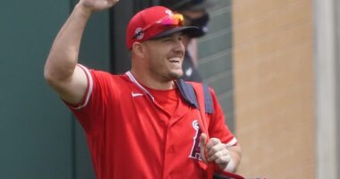 Mike Trout, 2021 Spring Training