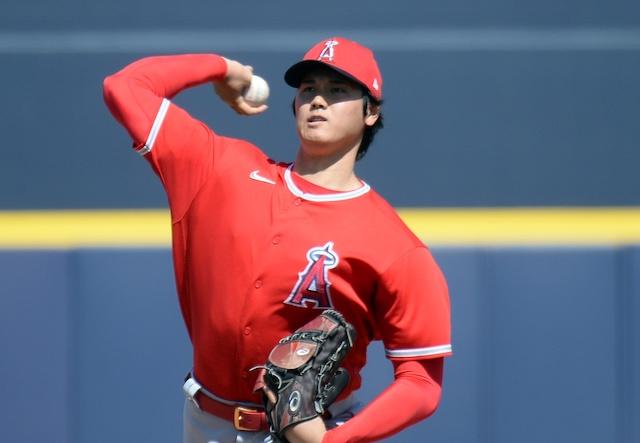 Shohei Ohtani, 2021 Spring Training