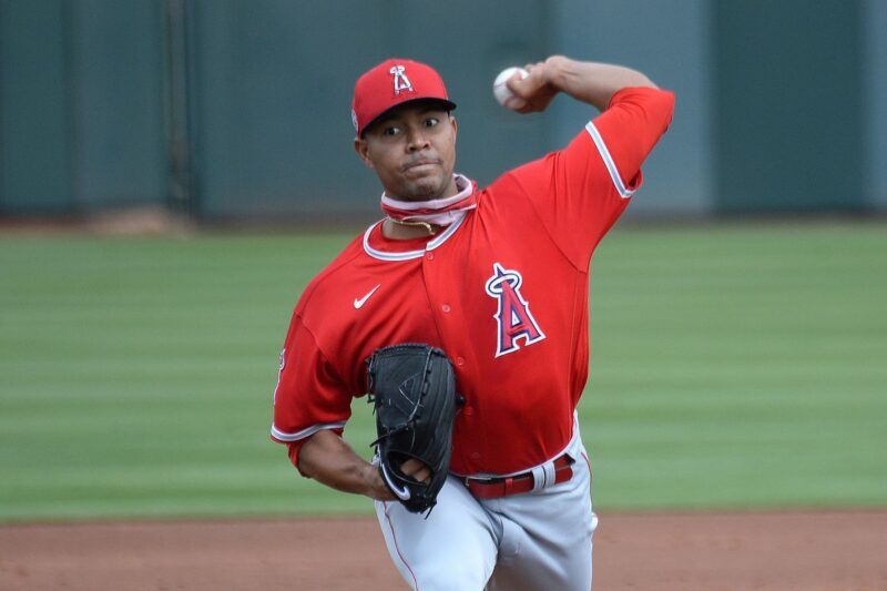 Jose Quintana of the Angels