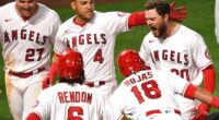 Jared Walsh, Jose Iglesias, Mike Trout, Jose Rojas, Anthony Rendon, 2021 Season