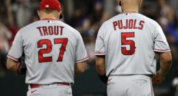 Mike Trout, Albert Pujols, 2021 Season