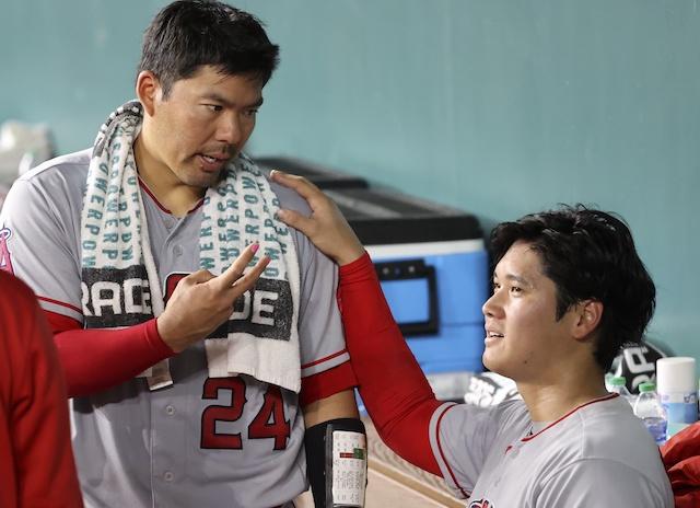 Shohei Ohtani, Kurt Suzuki, 2021 Season
