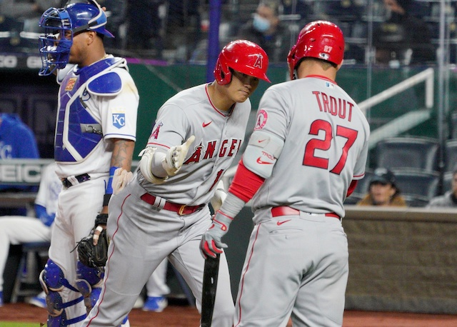 Shohei Ohtani, Mike Trout, 2021 Season