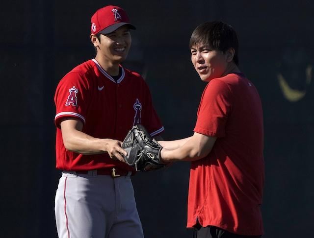 Shohei Ohtani, Ippei Mizuhara, 2021 Season